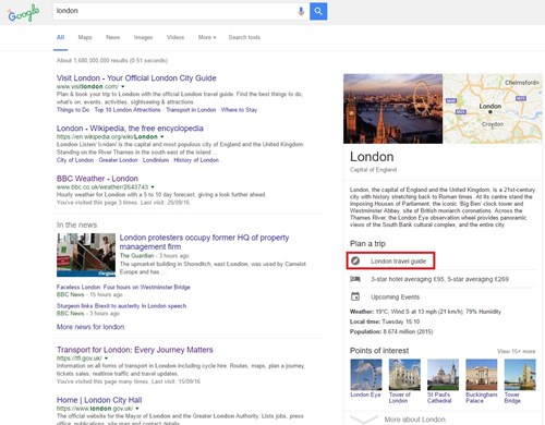Holiday Travel Guide Google
